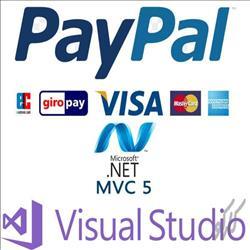 اتصال به درگاه پی پال در Asp.Net MVC